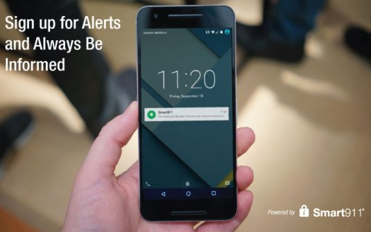 Phone with Alert Notification